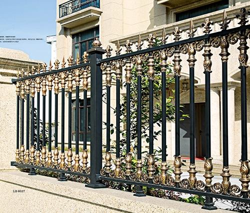 铝艺栏杆加工案例