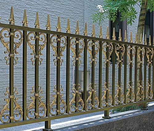 铝艺栏杆制作