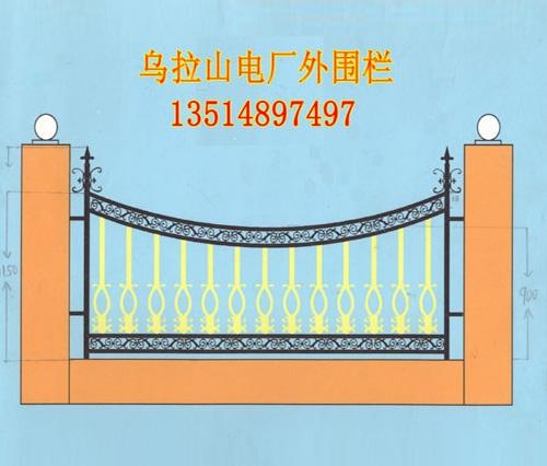 铁艺栏杆案例