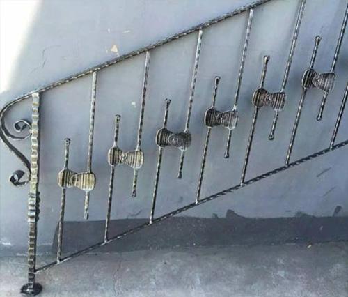 铁艺楼梯加工案例
