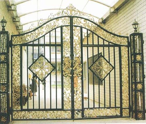 铸铁大门制作案例