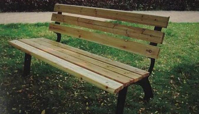金属制品公园椅