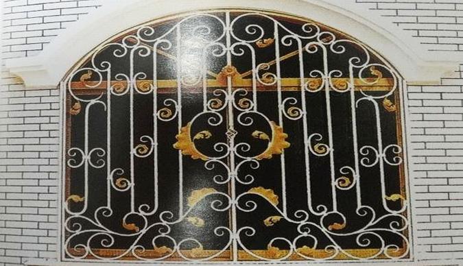 金属防护窗