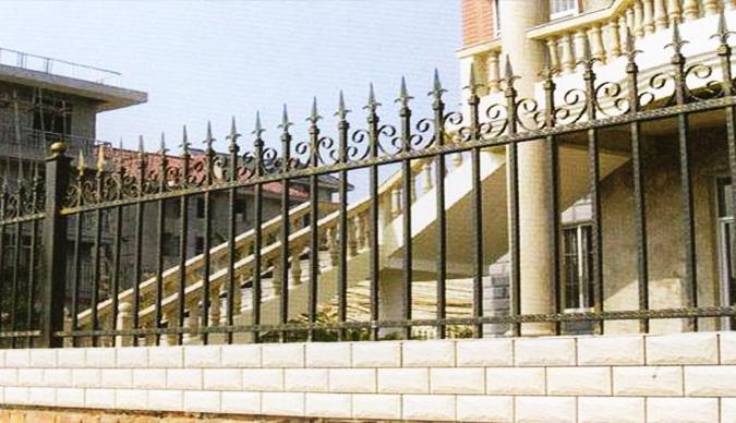 锻造铁艺栏杆安装