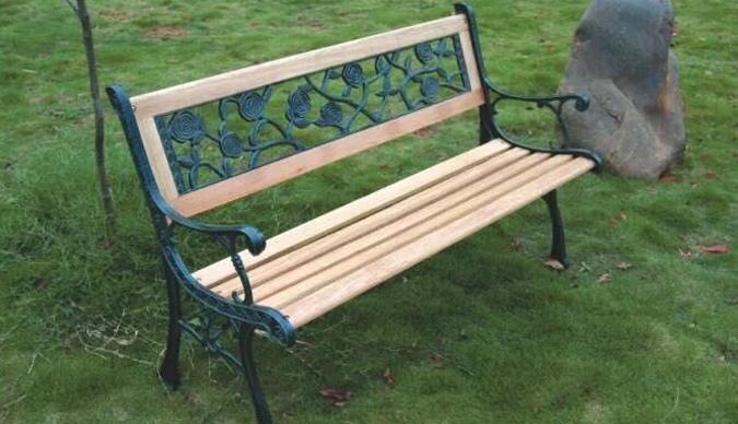 公园椅加工