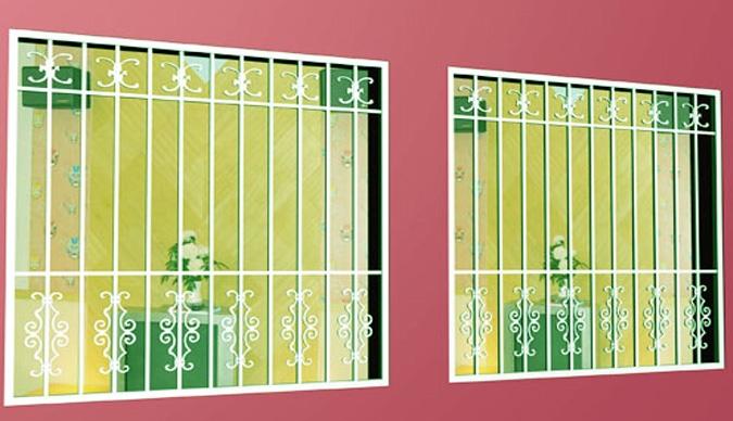 东胜铁艺护窗