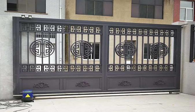 鄂尔多斯铝艺大门