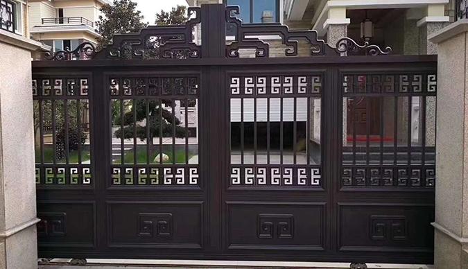 赤峰铝艺大门安装
