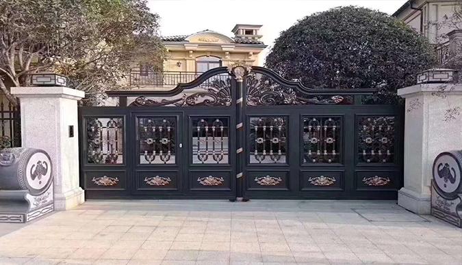 铝艺大门安装