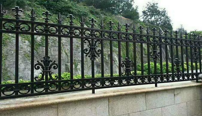赤峰铝艺栏杆
